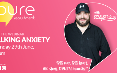 Live Event: 'Talking Anxiety' with Nick Elston