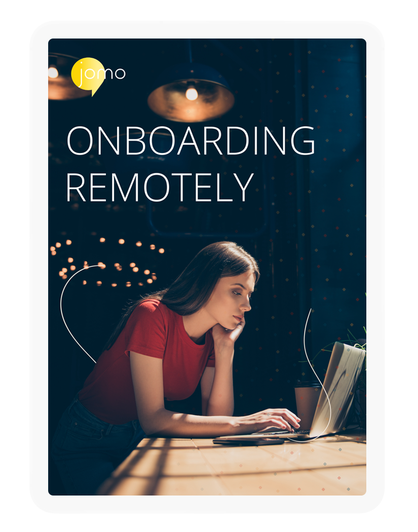 Onboarding remotely ebook cover